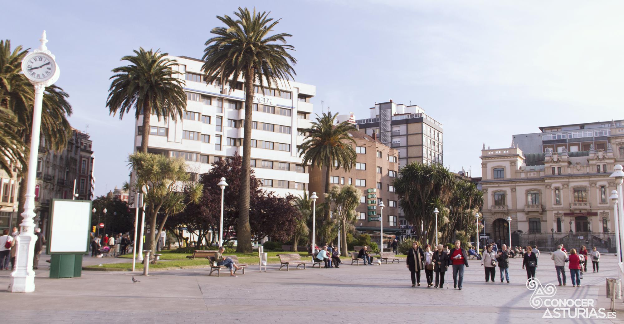10 sitios que ver en gij n conocer asturias ocio y for Jardines de la reina gijon
