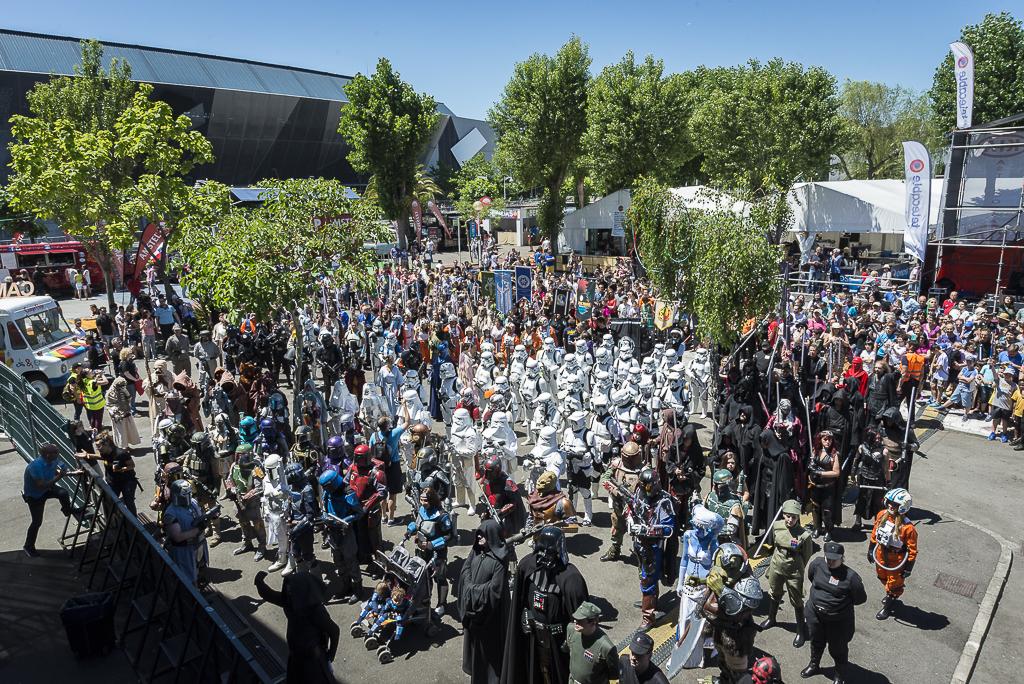 Desfile de Star Wars